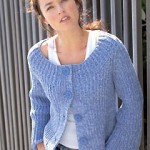 photo tricot modele tricot pull raglan femme 9