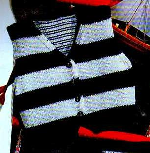 photo tricot modele tricot pull sans manche bebe 10