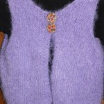 photo tricot modele tricot pull sans manche bebe 12