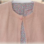 photo tricot modele tricot pull sans manche bebe 13