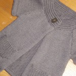 photo tricot modele tricot pull sans manche bebe 14