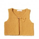 photo tricot modele tricot pull sans manche bebe 16