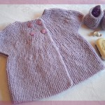photo tricot modele tricot pull sans manche bebe 17