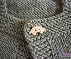 photo tricot modele tricot pull sans manche bebe 18