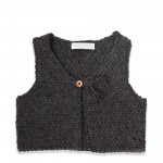 photo tricot modele tricot pull sans manche bebe 3