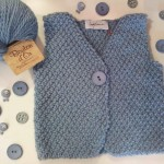 photo tricot modele tricot pull sans manche bebe 4