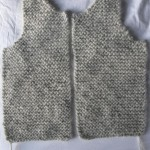 photo tricot modele tricot pull sans manche bebe 6