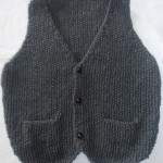 photo tricot modele tricot pull sans manche bebe 8