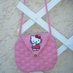 photo tricot modele tricot sac hello kitty 10