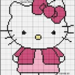 photo tricot modele tricot sac hello kitty 5