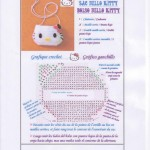 photo tricot modele tricot sac hello kitty 7