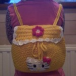 photo tricot modele tricot sac hello kitty 8