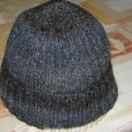 photo tricot modele tricoter bonnet homme 11