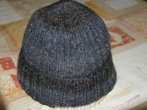 photo tricot modele tricoter bonnet homme 11