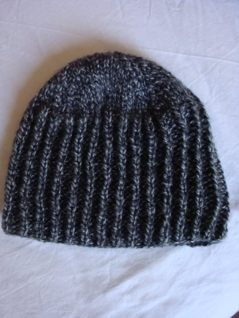 photo tricot modele tricoter bonnet homme 12