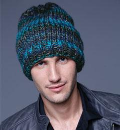 photo tricot modele tricoter bonnet homme 14