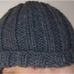 photo tricot modele tricoter bonnet homme 6