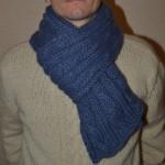 photo tricot modele tricoter echarpe 13