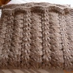 photo tricot modele tricoter echarpe 6