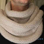 photo tricot modele tricoter echarpe tube 13
