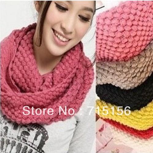 photo tricot modele tricoter echarpe tube 18