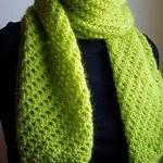 photo tricot modele tricoter facile une écharpe 12