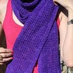 photo tricot modele tricoter facile une écharpe 6