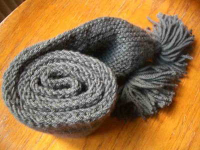 photo tricot modele tricoter facile une écharpe 9