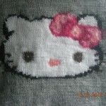 photo tricot modele tricoter pull hello kitty 11