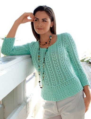 modele tricot ete bergere de france