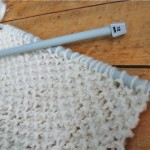 photo tricot modèle tricot point de riz simple 18