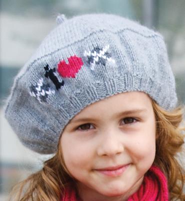 photo tricot patron tricot béret tendance gratuit 13