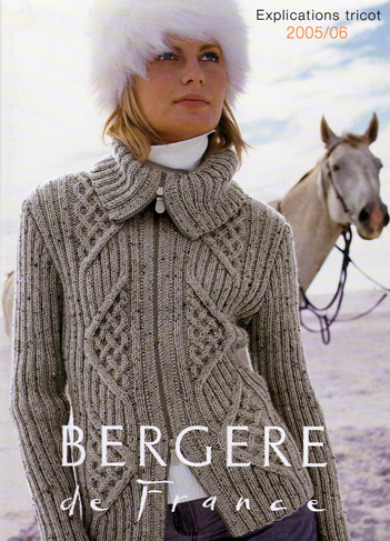 photo tricot patron tricot gratuit bergere france 4