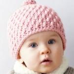 photo tricot patron tricot gratuit bonnet bébé 5