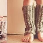 photo tricot patron tricot jambière bébé 13