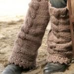 photo tricot patron tricot jambière bébé 17