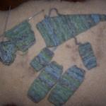 photo tricot patron tricot jambière bébé 2