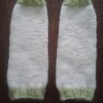 photo tricot patron tricot jambière bébé 5