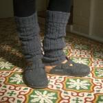 photo tricot patron tricot jambière bébé 7