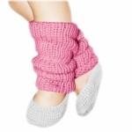 photo tricot patron tricot jambière bébé 8