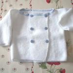 photo tricot patron tricot layette facile 12
