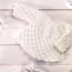 photo tricot patron tricot layette facile 13
