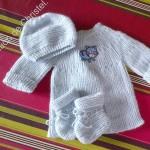 photo tricot patron tricot layette facile
