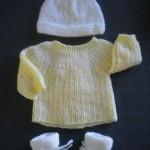 photo tricot patron tricot layette facile 9