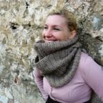 photo tricot patron tricoter écharpe tube 11