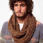 photo tricot patron tricoter écharpe tube 15