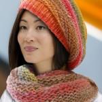 photo tricot patron tricoter écharpe tube 17