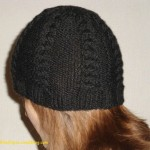 photo tricot tricot modele bonnet adulte 15