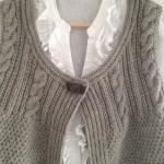 photo tricot tricot modele de gilet 9