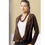 photo tricot tricot modele de gilet femme 18